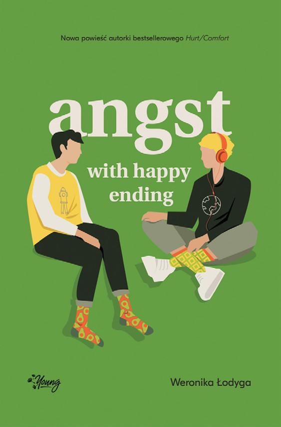 okładka Angst with happy endingebook | epub, mobi | Weronika Łodyga