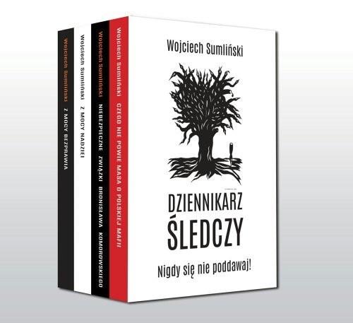 okładka Dziennikarz śledczy pakietksiążka      Wojciech Sumliński