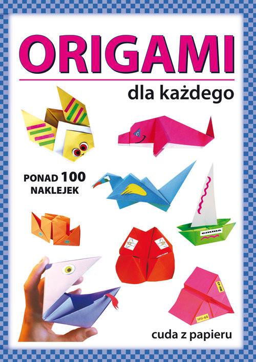 okładka Origami dla każdegoksiążka      Anna  Smaza, Beata Gutowska