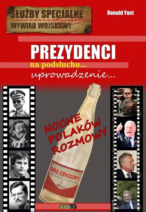 okładka Prezydenci Uprowadzenie...książka |  | Ronald  Yust