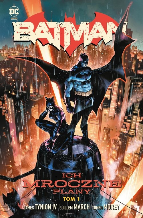 okładka Batman Tom 1 Ich mroczne planyksiążka |  |