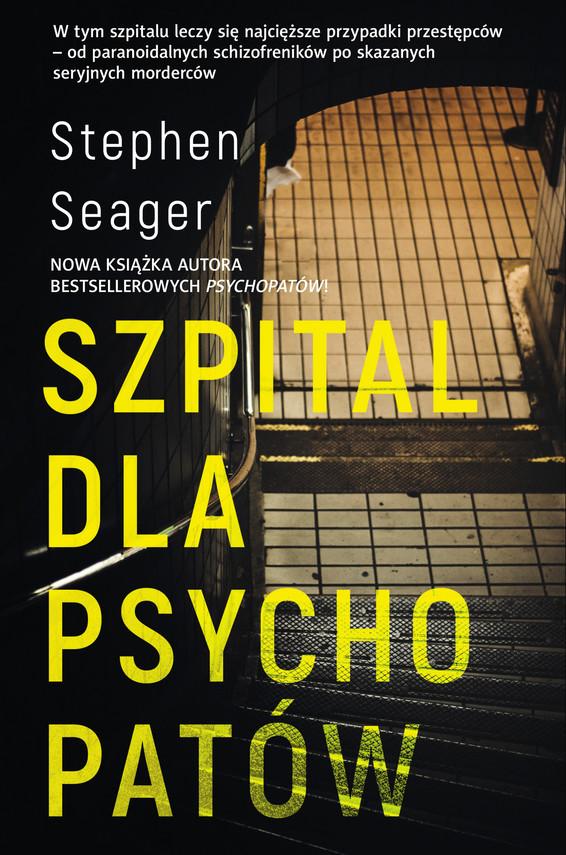 okładka Szpital dla psychopatówebook   epub, mobi   Seager Stephen