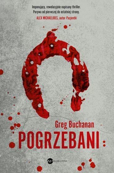 okładka Pogrzebaniksiążka      Buchanan Greg