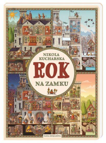 okładka Rok na zamku książka |  | Nikola Kucharska