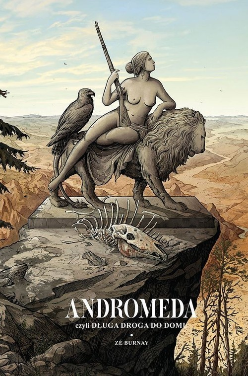 okładka Andromeda czyli długa droga do domuksiążka |  | Burnay Ze
