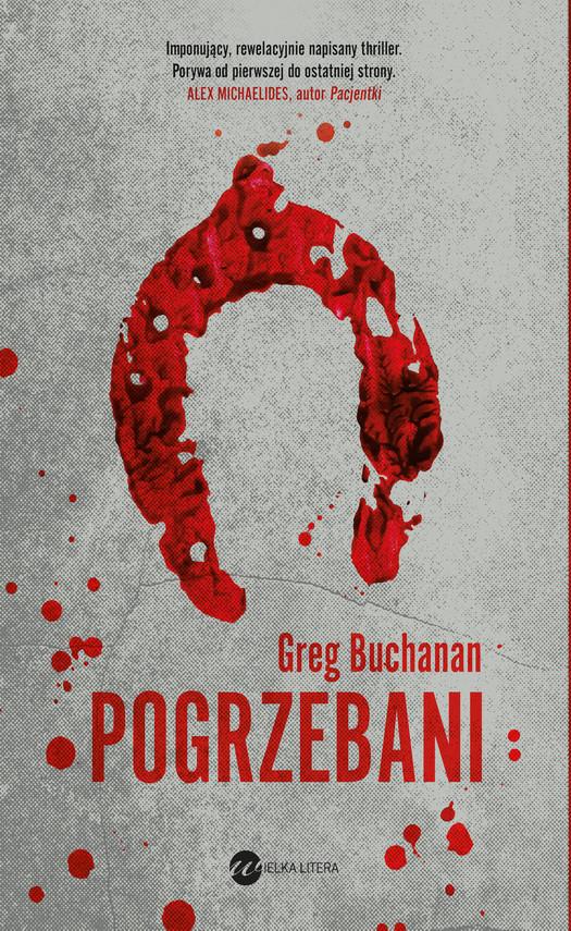 okładka Pogrzebaniebook   epub, mobi   Buchanan Greg