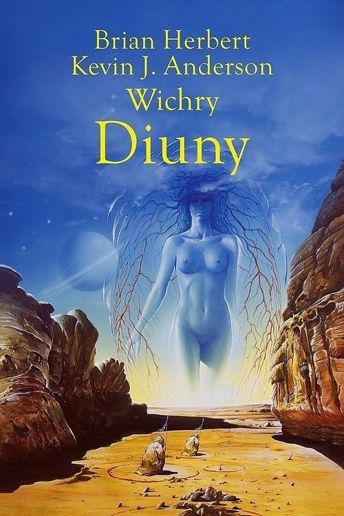 okładka Wichry Diunyksiążka |  | Kevin J. Anderson, Brian Herbert, Wojciech Siudmak