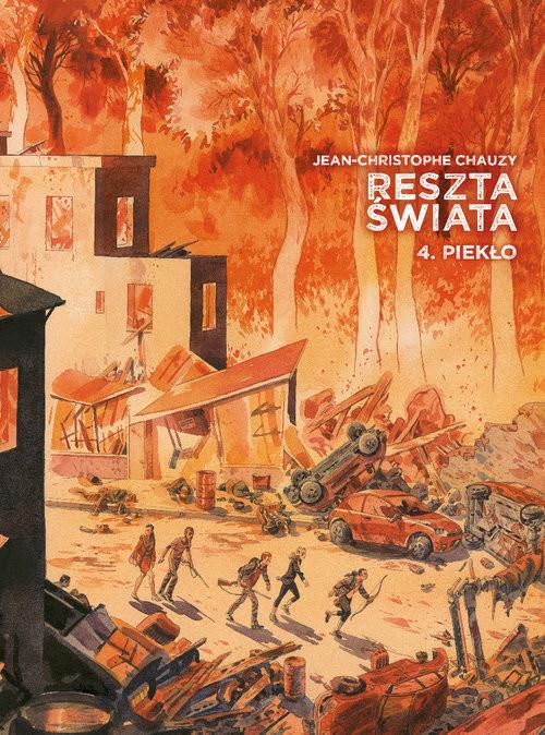okładka Reszta świata Tom 4książka |  | Chauzy Jean-Christophe