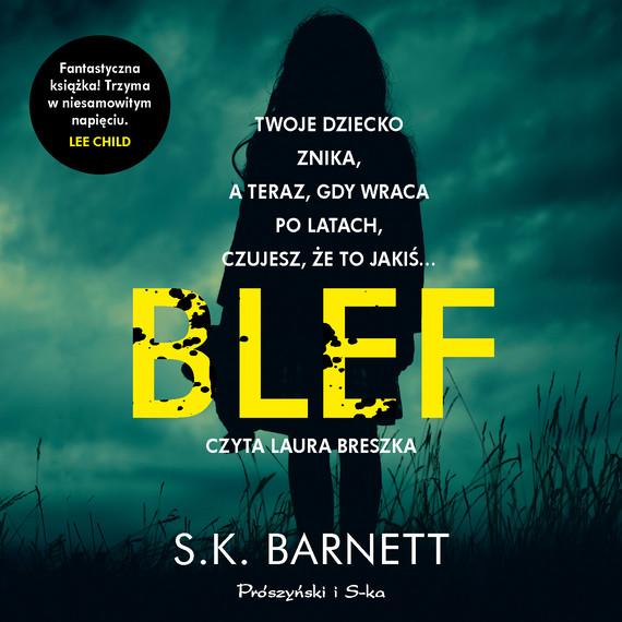 okładka Blefaudiobook | MP3 | S.K. Barnett