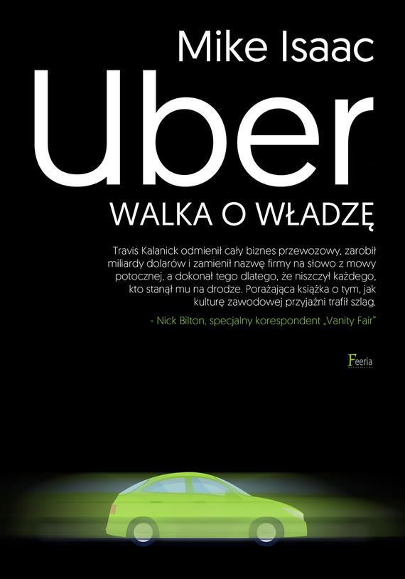 okładka Uber. Walka o władzęebook | epub, mobi | Isaac Mike