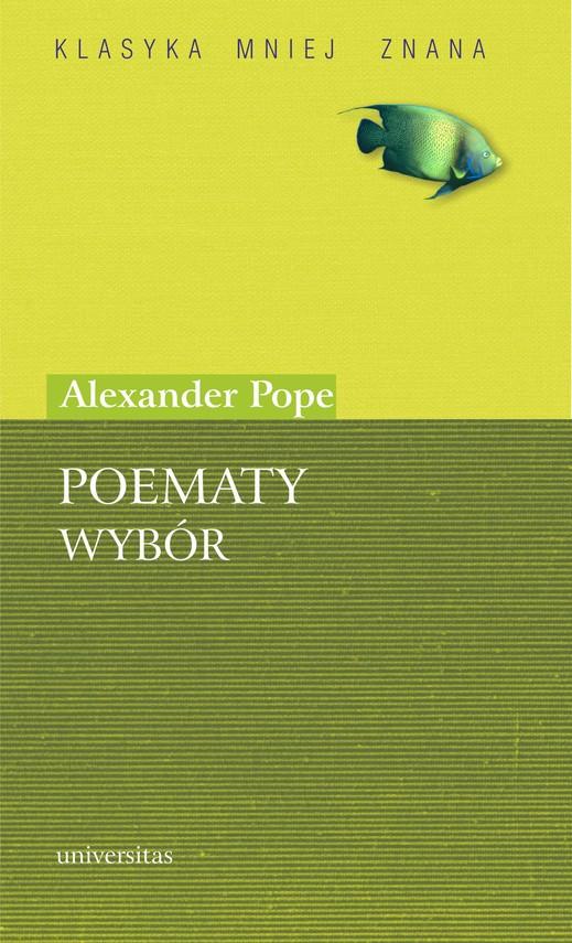 okładka Poematy. Wybórebook   pdf   Alexander  Pope