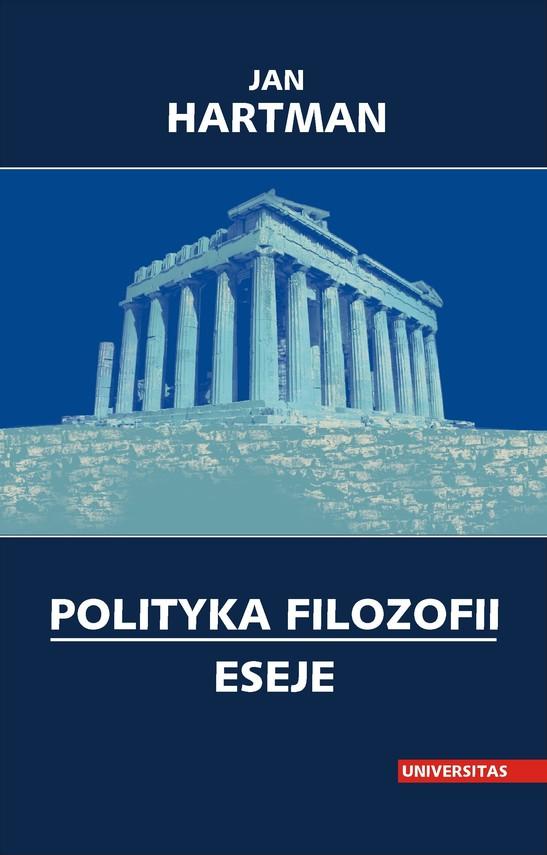okładka Polityka filozofii. Esejeebook   pdf   Hartman Jan