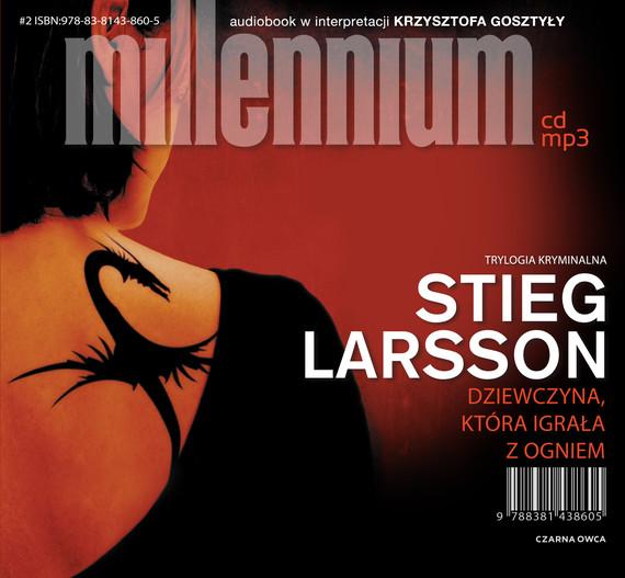 okładka Dziewczyna, która igrała z ogniemaudiobook | MP3 | Stieg Larsson