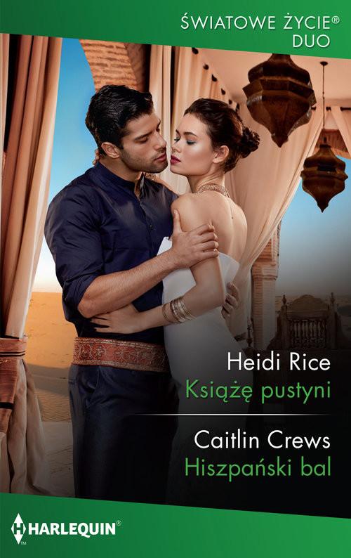 okładka Książę pustyni Hiszpański balksiążka |  | Heidi  Rice, Caitlin Crews