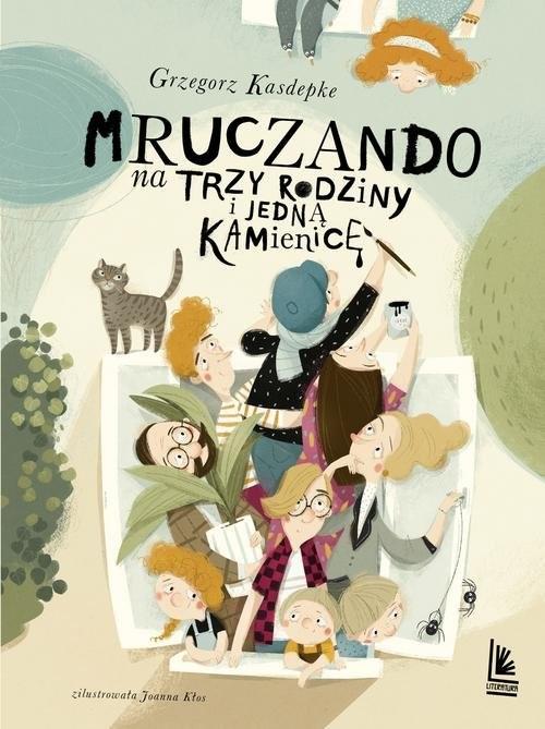 okładka Mruczando na trzy rodzinyksiążka |  | Grzegorz Kasdepke