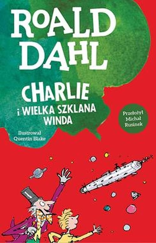 okładka Charlie i wielka szklana windaksiążka      Dahl Roal