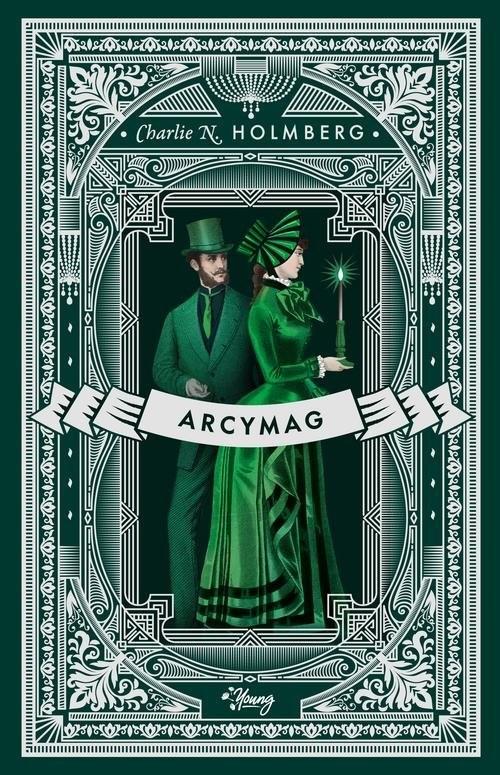 okładka Mag Tom 3 Arcymagksiążka      Charlie Holmberg