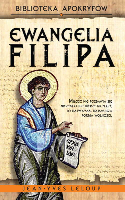 okładka Ewangelia Filipaksiążka      Leloup Jean-Yves