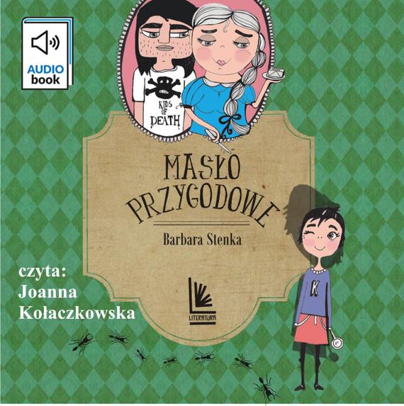 okładka Masło przygodoweaudiobook   MP3   Barbara Stenka