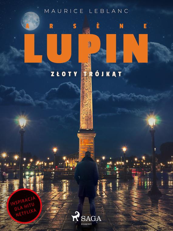 okładka Arsène Lupin. Złoty trójkątebook   epub, mobi   Maurice Leblanc