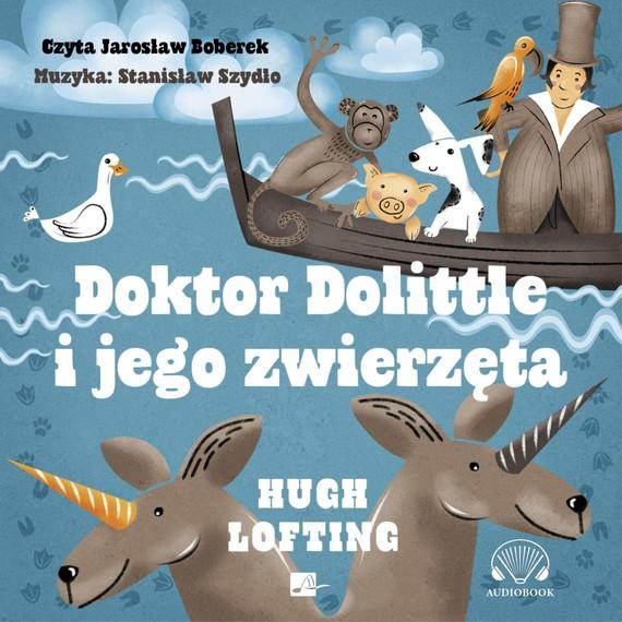 okładka Doktor Dolittle i jego zwierzętaaudiobook   MP3   Hugh Lofting