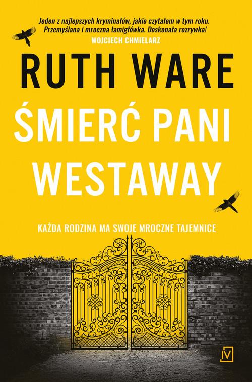okładka Śmierć pani Westawayksiążka |  | Ruth Ware