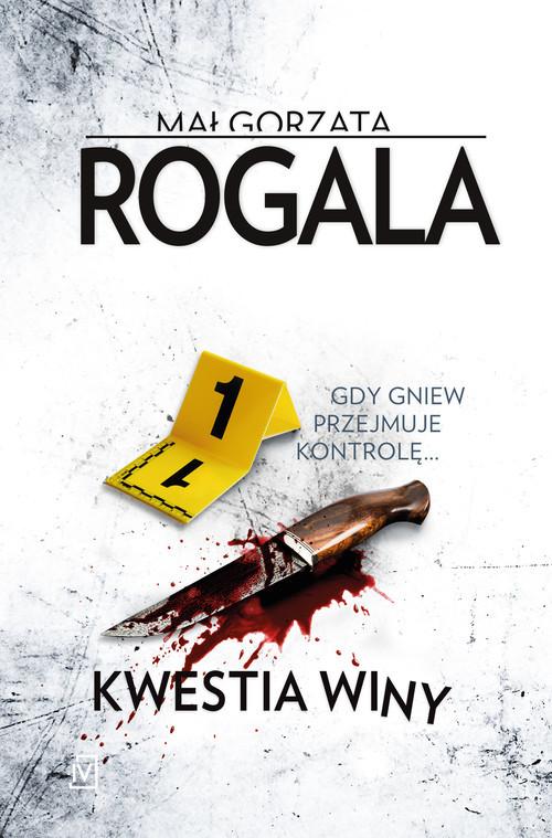 okładka Kwestia winyksiążka      Małgorzata Rogala