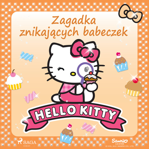 okładka Hello Kitty - Zagadka znikających babeczekaudiobook | MP3 | – Sanrio