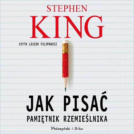 okładka Jak pisaćaudiobook   MP3   Stephen King