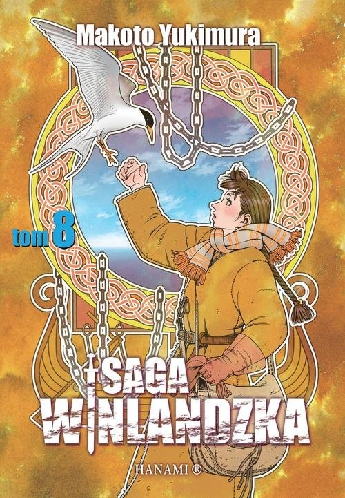 okładka Saga winlandzka Tom 8książka      Yukimura Makto
