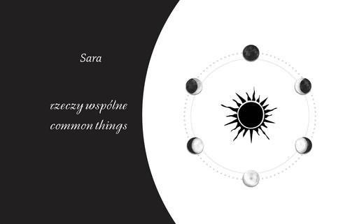 okładka rzeczy wspólne / common thingsksiążka      Sara