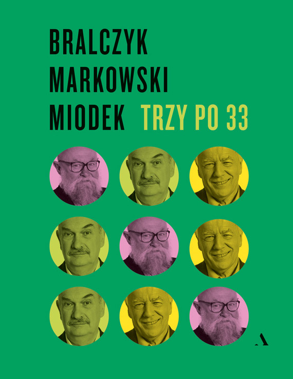 okładka Trzy po 33ebook   epub, mobi   Jerzy Bralczyk