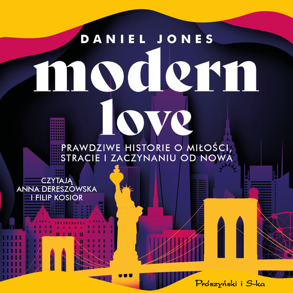 okładka Modern Loveaudiobook   MP3   Daniel Jones