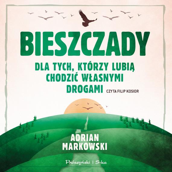 okładka Bieszczadyaudiobook | MP3 | Adrian Markowski