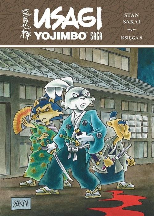 okładka Usagi Yojimbo Saga księga 8książka     
