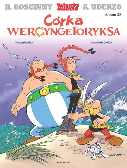 okładka Asteriks Córka Wercyngetoryksaksiążka |  |