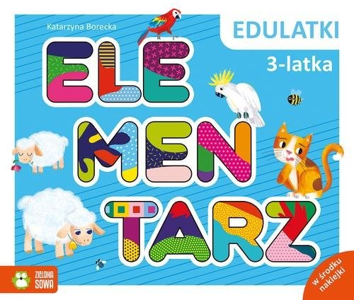 okładka Edulatki Elementarz 3-latkaksiążka      Katarzyna Borecka