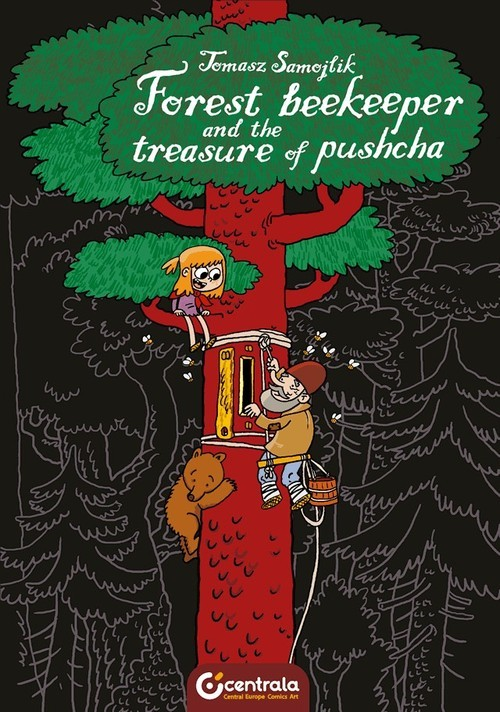 okładka Forest Beekeeper and the Treasure of Pushchaksiążka      Samojlik Tomasz