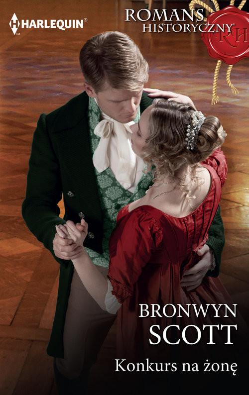 okładka Konkurs na żonęksiążka      Bronwyn Scott