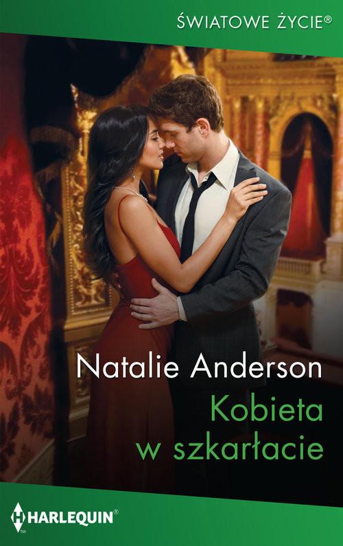 okładka Kobieta w szkarłacie / Światowe Życieksiążka      Natalie Anderson