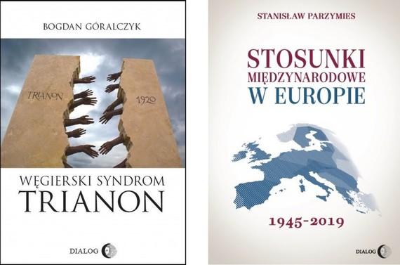 okładka WĘGRY KONTRA EUROPA - e-book Pakiet 2 książekebook | epub, mobi | Bogdan Góralczyk, Stanisław Parzymies