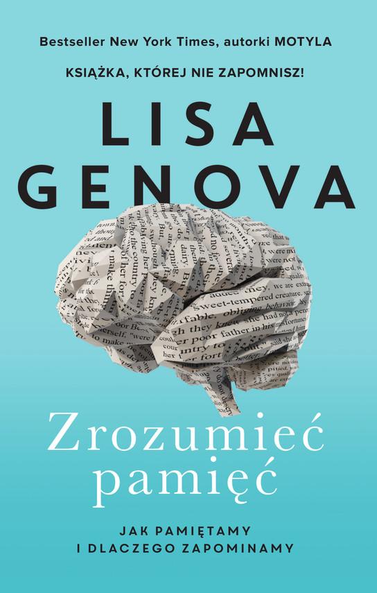 okładka Zrozumieć pamięćebook | epub, mobi | Lisa Genova