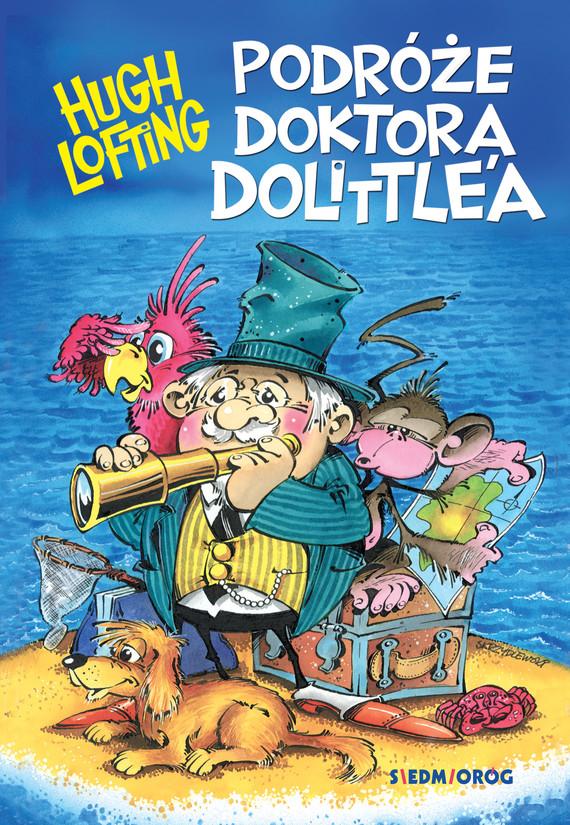 okładka Podróże doktora Dolittle'aebook | epub, mobi | Hugh Lofting