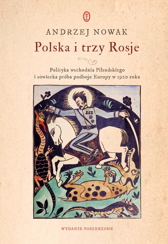 okładka Polska i trzy Rosjeebook | epub, mobi | Andrzej Nowak
