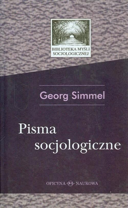 okładka Pisma socjologiczneksiążka |  | Simmel Georg