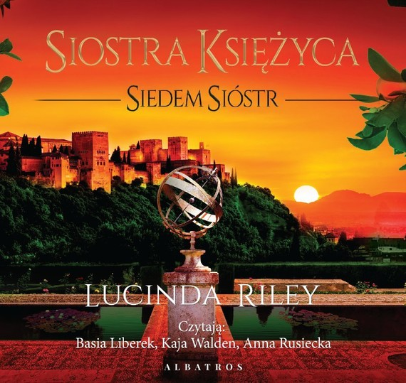 okładka SIOSTRA KSIĘŻYCA. SIEDEM SIÓSTRaudiobook   MP3   Lucinda Riley