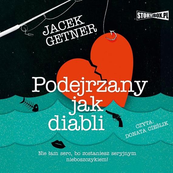 okładka Podejrzany jak diabliaudiobook | MP3 | Jacek Getner