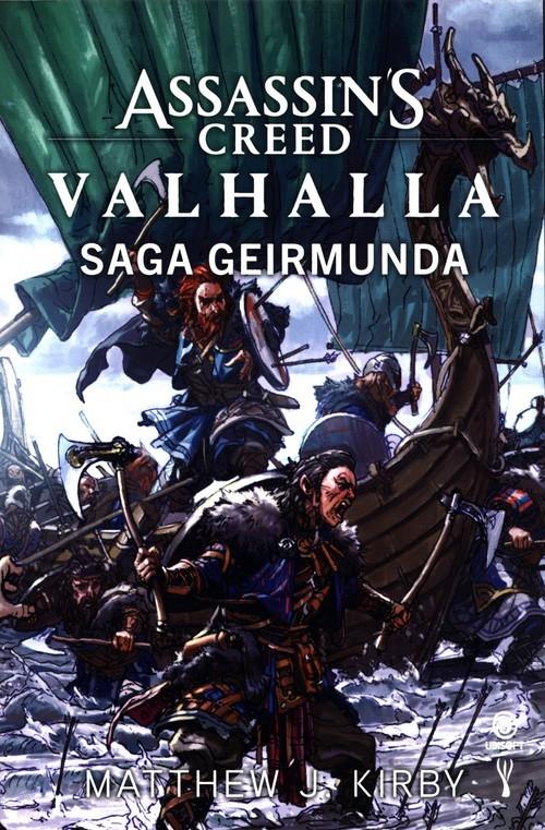 okładka Assassin's Creed Valhalla Saga Geirmundaksiążka |  | Matthew J. Kirby