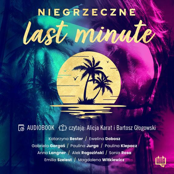 okładka Niegrzeczne last minuteaudiobook   MP3   Alek Rogoziński, Magdalena Witkiewicz, Paulina Klepacz