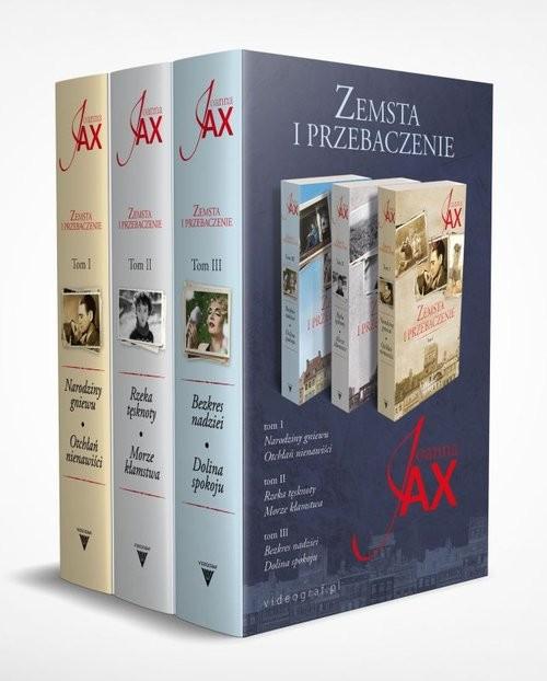 okładka Pakiet Zemsta i przebaczenie Tom 1-3książka      Joanna Jax